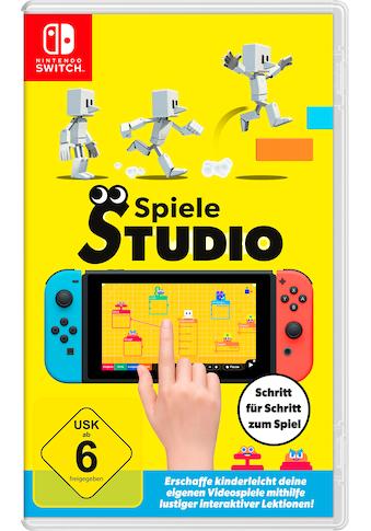 Nintendo Switch Spiel »Spielestudio«, Nintendo Switch kaufen