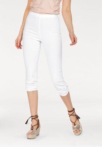 Aniston SELECTED 3/4-Hose, mit Raffungen kaufen