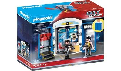 """Playmobil® Konstruktions - Spielset """"In der Polizeistation (70306), City Action"""", Kunststoff, (51 - tlg.) kaufen"""