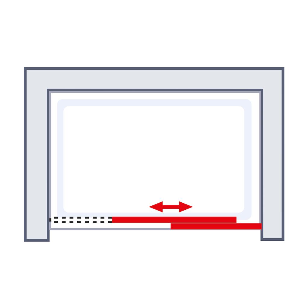 Schulte Schiebetür »Alexa Style 2.0«, BxH: 120 x 200 cm