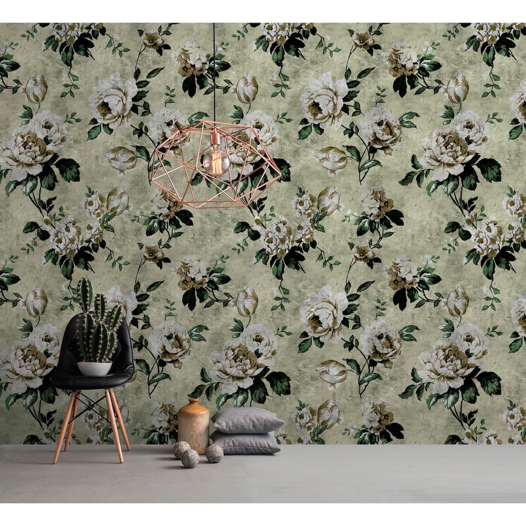 living walls Fototapete »Walls by Patel Wild Roses 1«