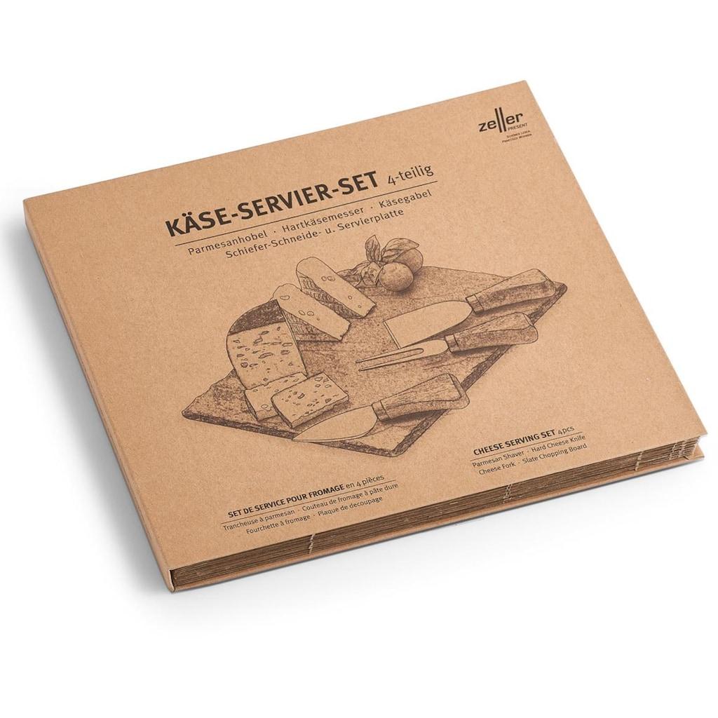 Zeller Present Käsebrett, (Set)