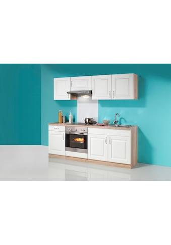 wiho Küchen Küchenzeile »Tilda«, mit E-Geräten, Breite 210 cm kaufen