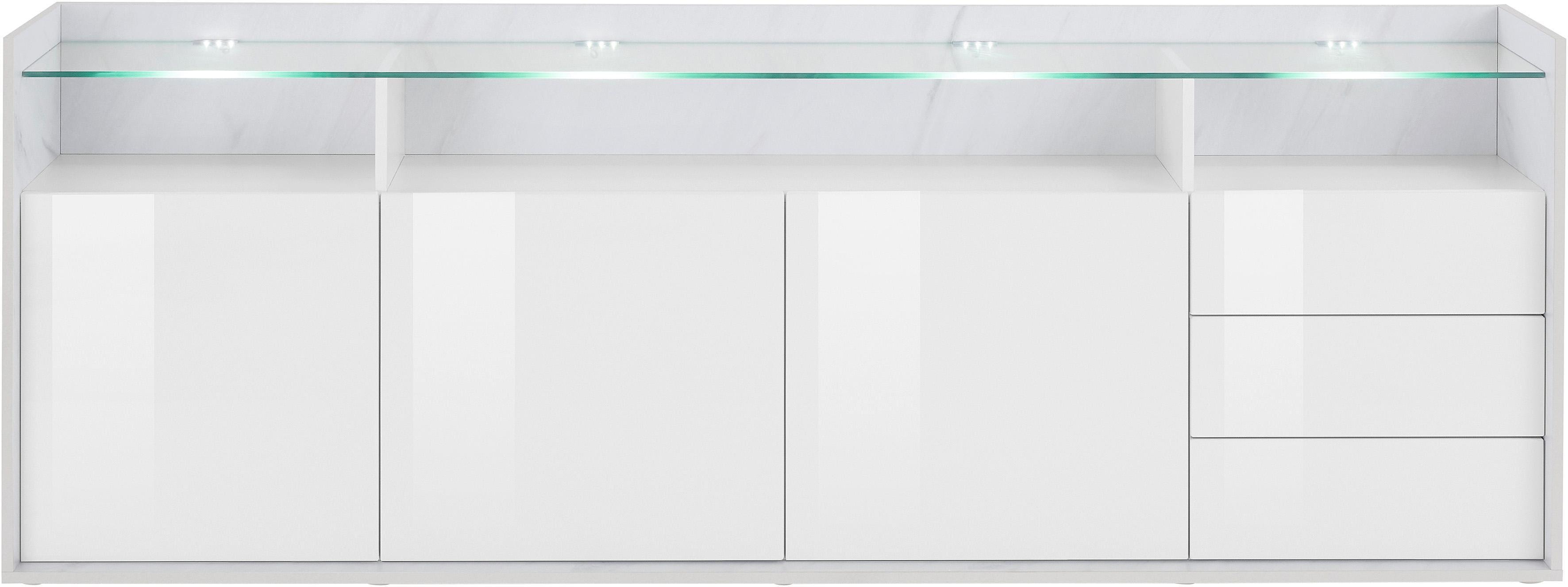 Borchardt Möbel Sideboard Livorno Breite 200 cm