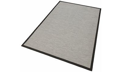 Dekowe Teppich »Naturino Color«, rechteckig, 7 mm Höhe, Flachgewebe, Sisal-Optik, mit Bordüre, In- und Outdoor geeignet, Wohnzimmer kaufen