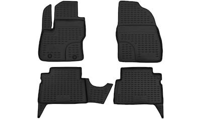 WALSER Passform-Fußmatten »XTR«, (4 St.), für Dacia Logan MCV II Bj 02/2013 - Heute kaufen