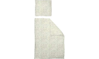 Adam Bettwäsche »Leinenbettwäsche Scribble«, GOTS zertifiziert, nachhaltig aus... kaufen