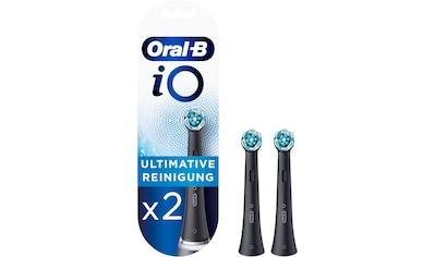 Oral B Aufsteckbürsten »iO Ultimative Reinigung BLACK«, iO Technologie kaufen