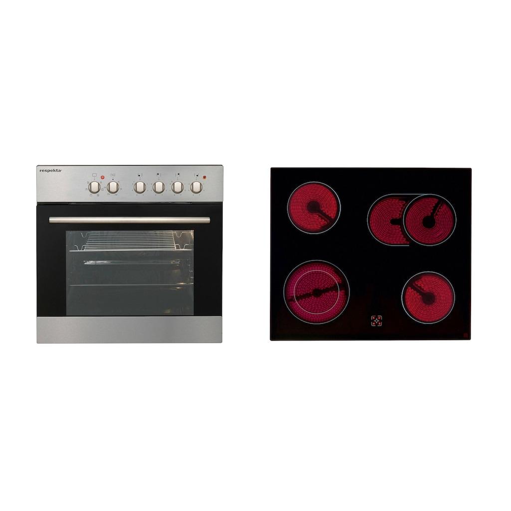 RESPEKTA Küchenzeile »Ulm«, mit E-Geräten, Breite 280 cm