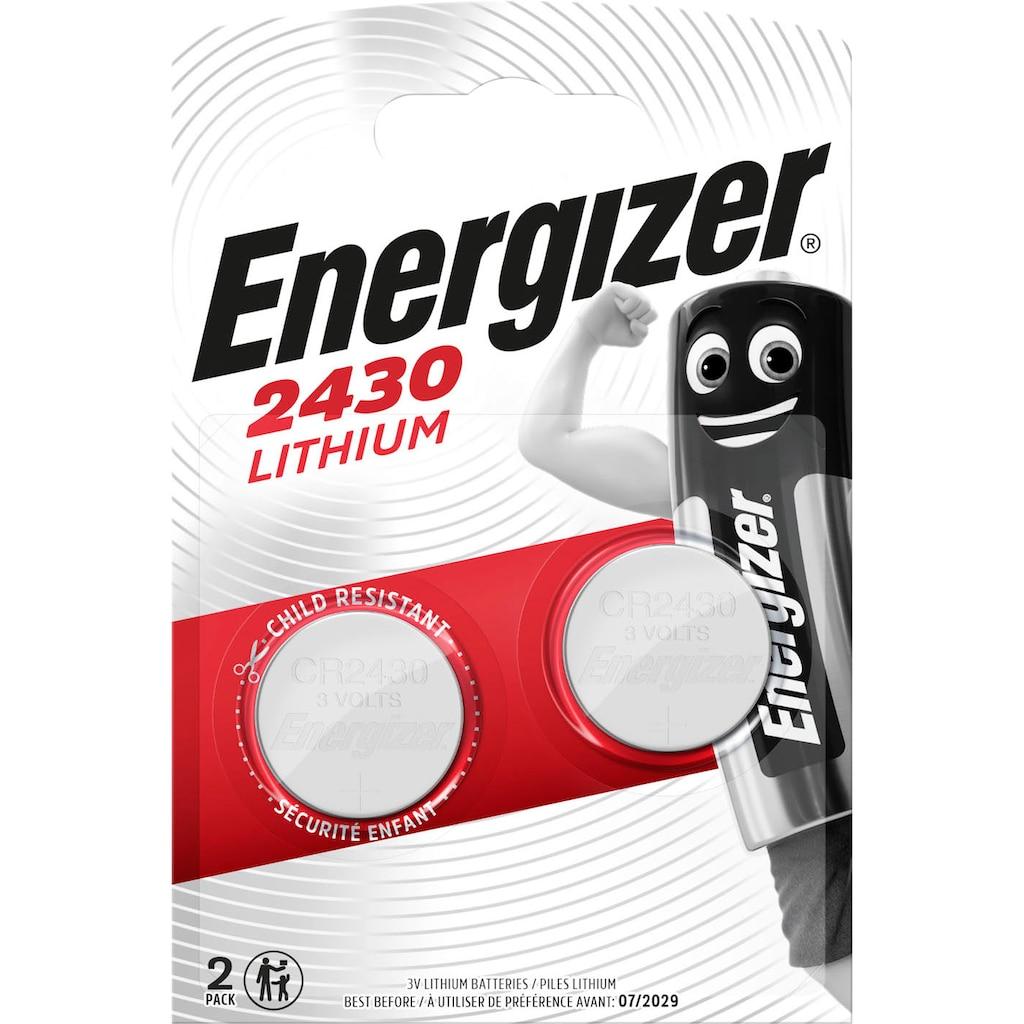 Energizer Batterie »Lithium CR-Typ 2430 2 Stück«, 3 V