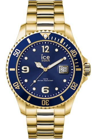ice - watch Quarzuhr »ICE steel  -  Gold blue  -  Large  -  3H, 16762« kaufen