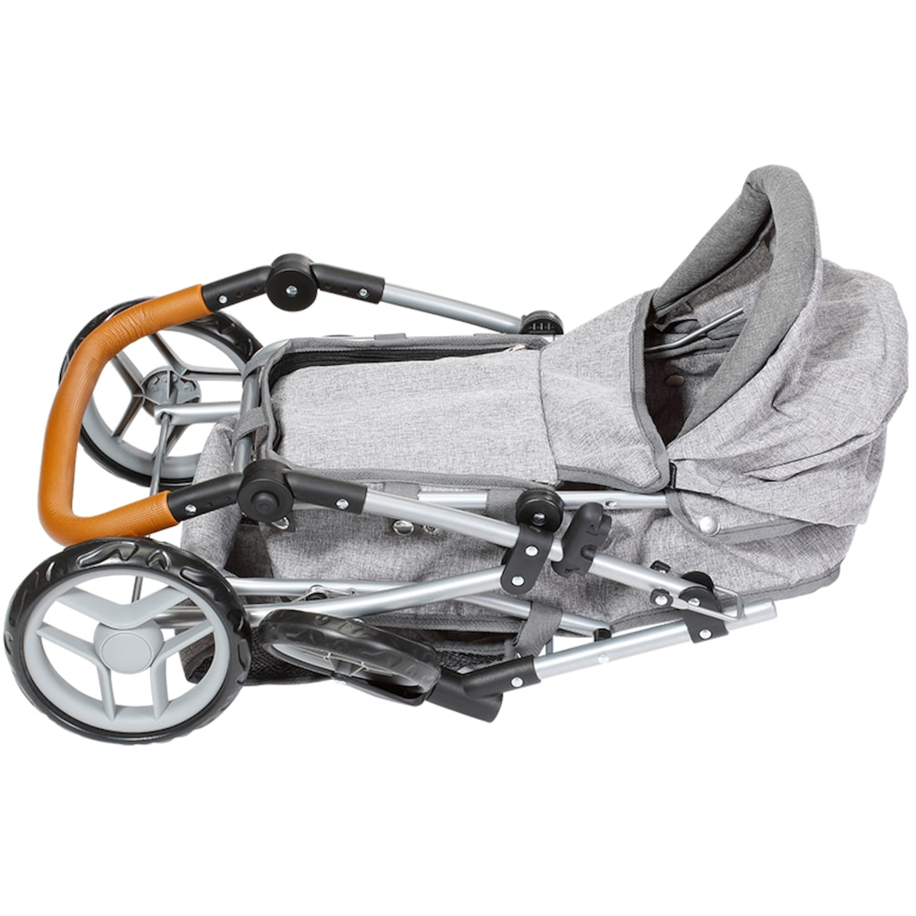 Knorrtoys® Kombi-Puppenwagen »Juna, stone brown«