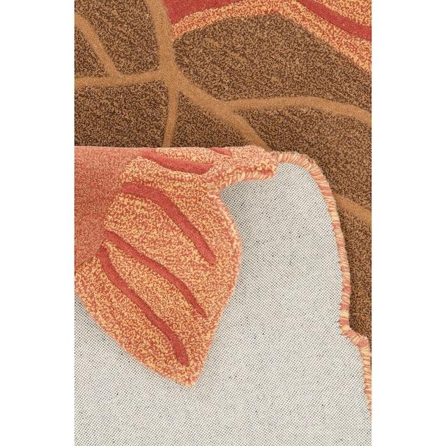 Wollteppich, »Luna«, Home affaire Collection, rechteckig, Höhe 15 mm, handgetuftet