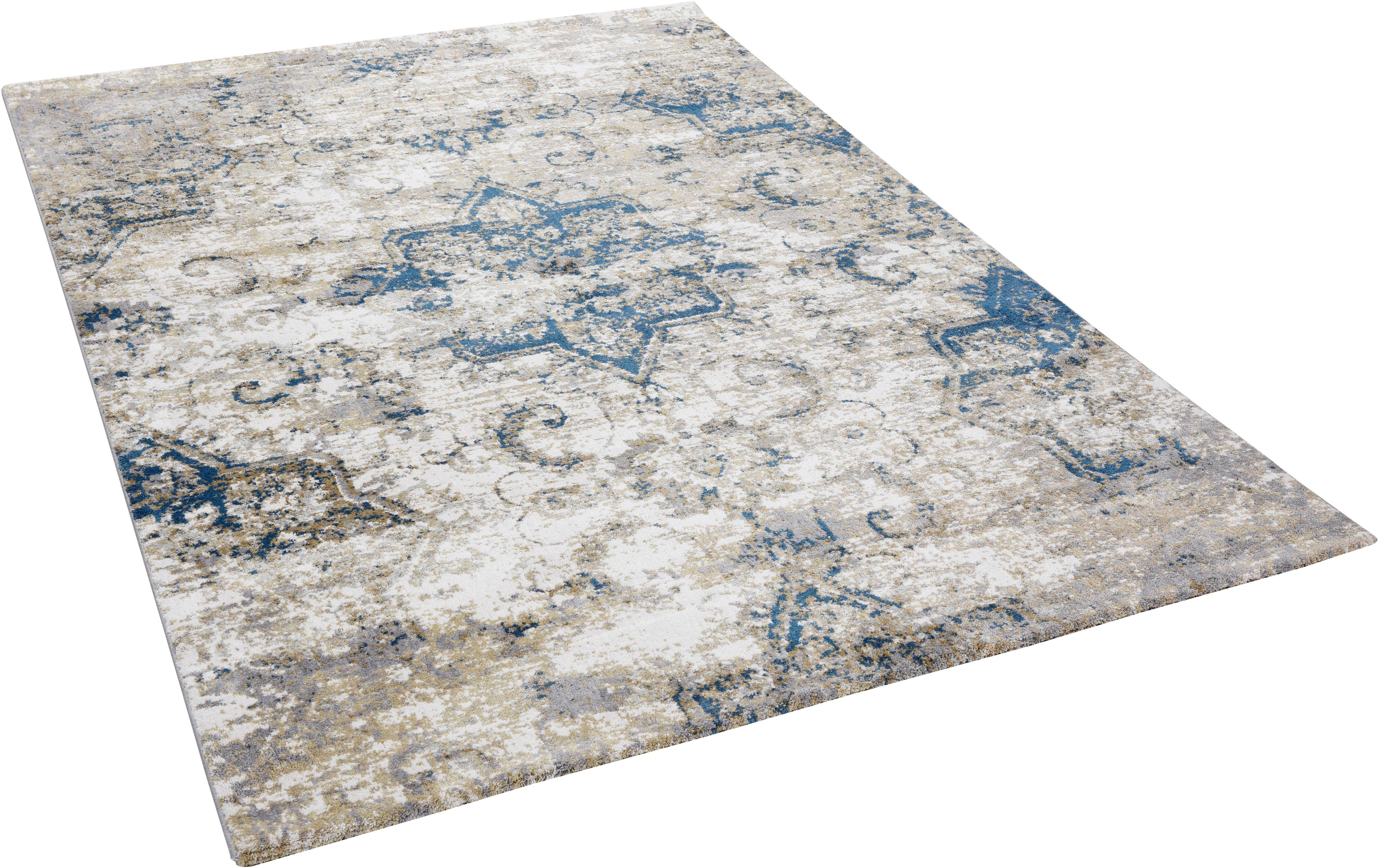 Teppich Anna Maria orient Gino Falcone rechteckig Höhe 20 mm maschinell gewebt