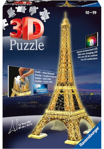 "Ravensburger 3D - Puzzle ""Eiffelturm bei Nacht"" kaufen"