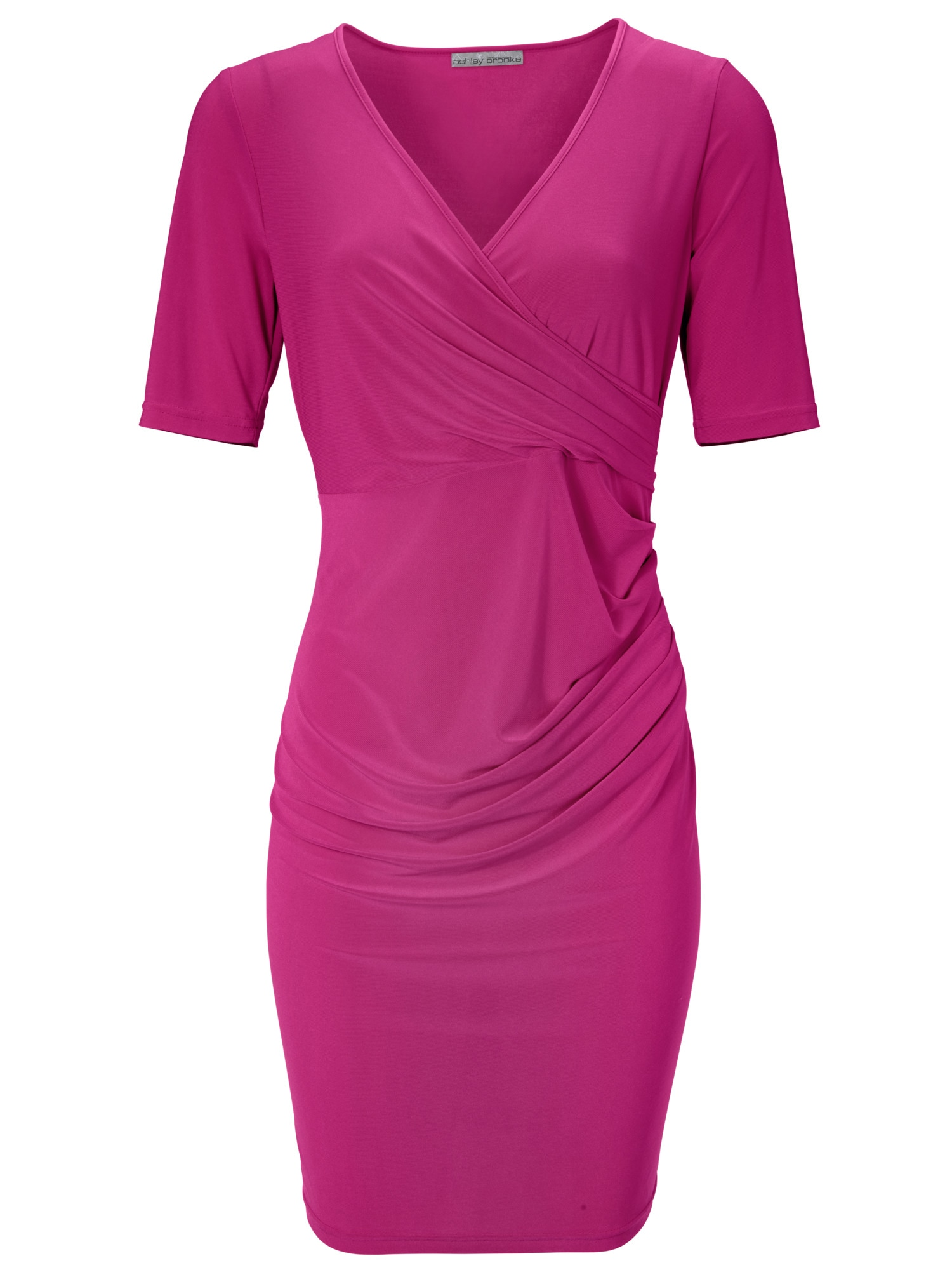 heine TIMELESS Jerseykleid mit Wickel-Optik