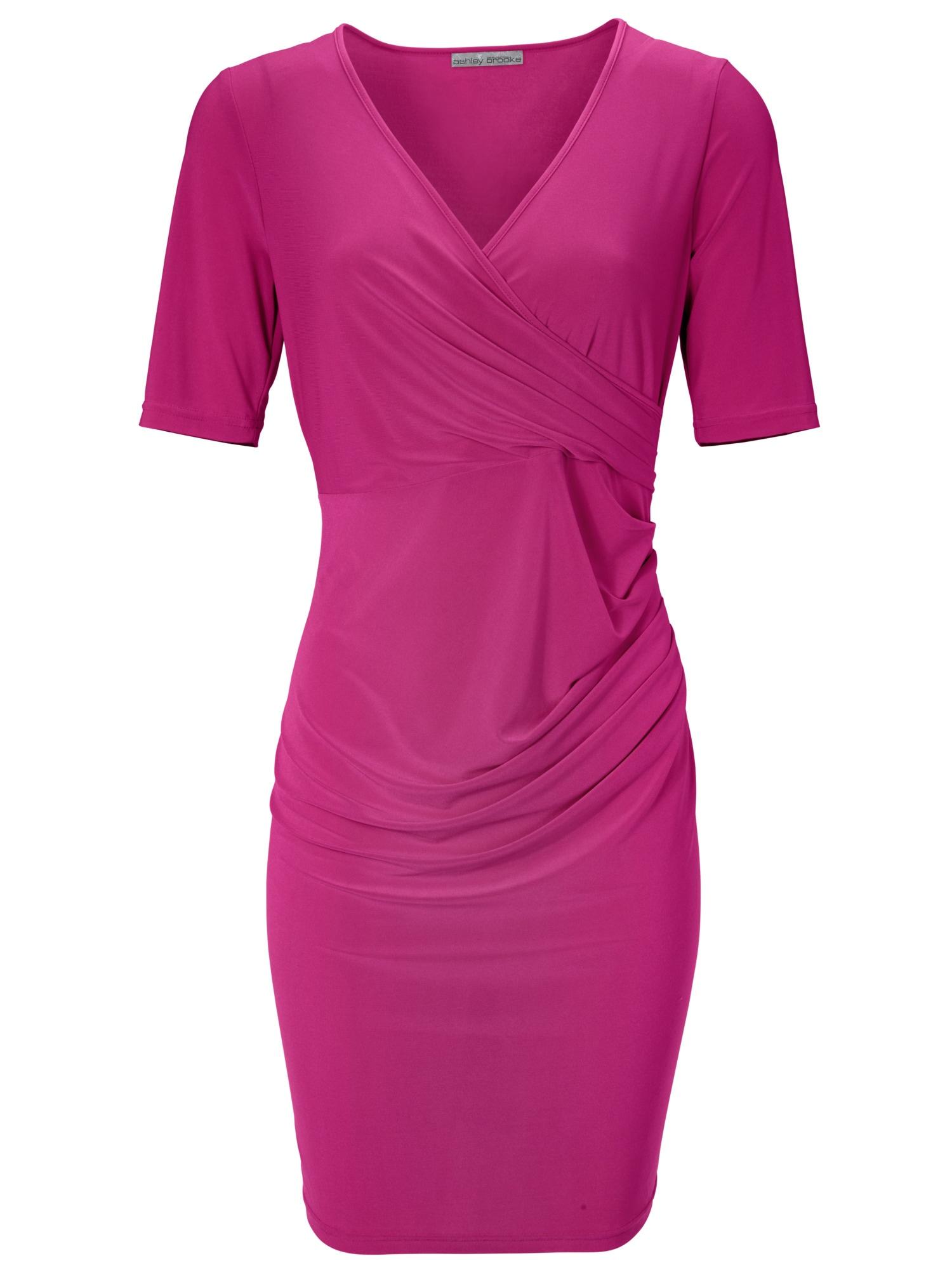 heine TIMELESS Jerseykleid mit Wickel-Optik