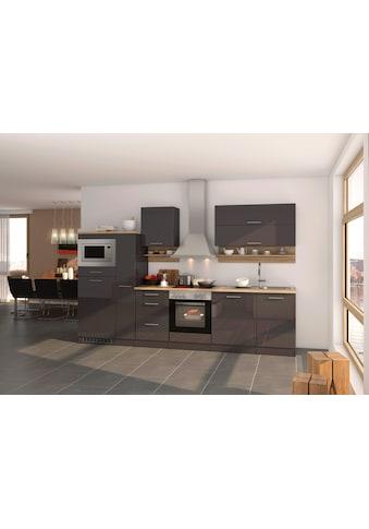 HELD MÖBEL Küchenzeile »Mailand«, mit E - Geräten, Breite 310 cm kaufen