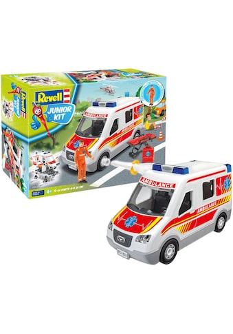 Revell® Modellbausatz »Junior Kit, Rettungswagen«, 1:20, Made in Europe kaufen