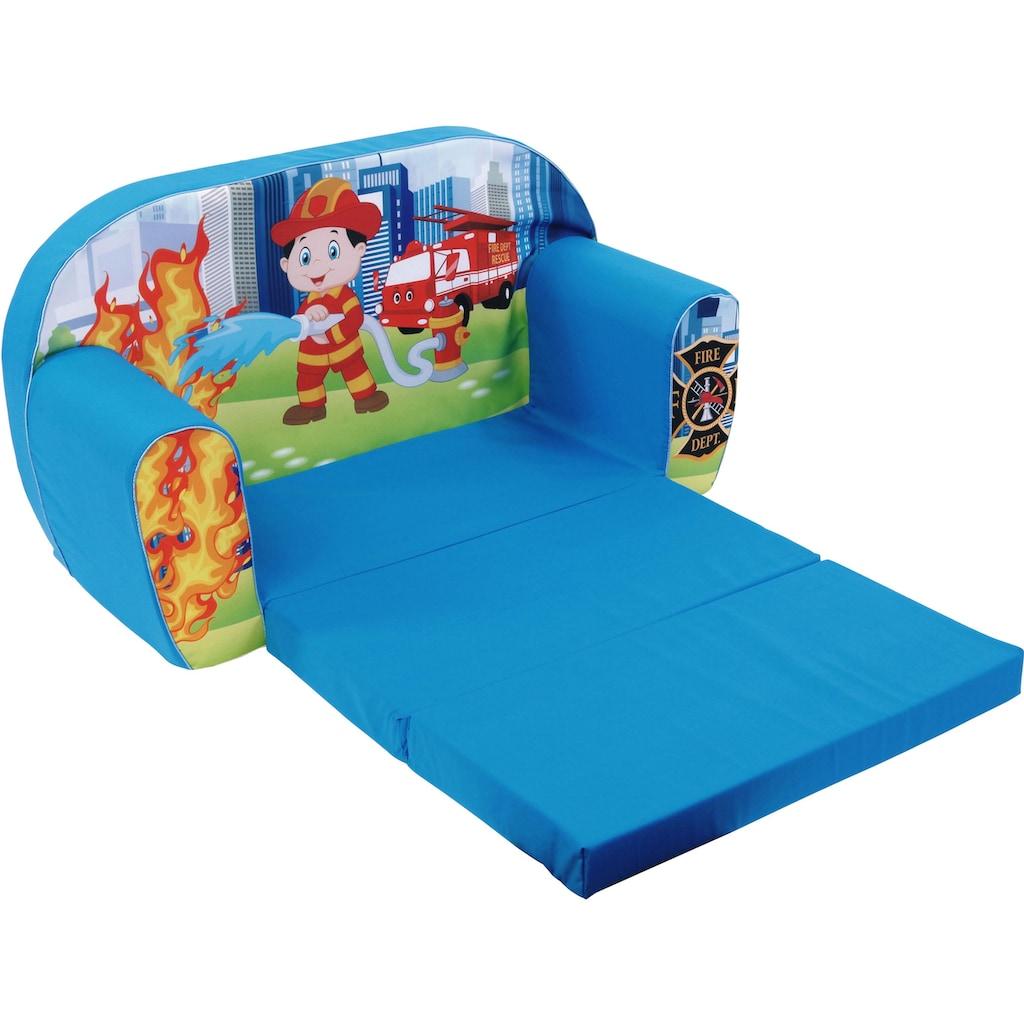 Knorrtoys® Sofa »Fireman«, für Kinder; Made in Europe