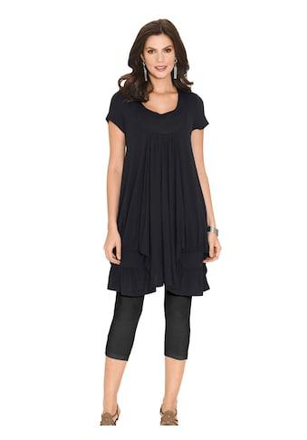 Classic Basics Shirttunika mit vielen Raffungen kaufen