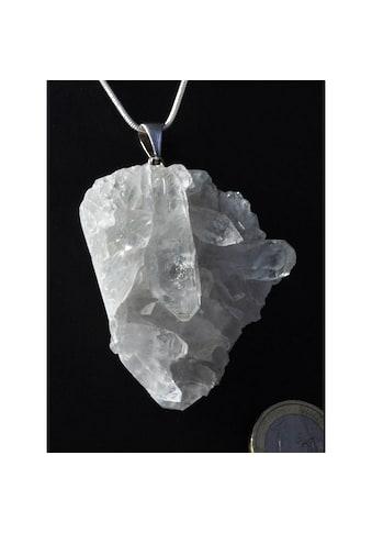 Adelia´s Kettenanhänger »Bergkristall Anhänger 925 Silber« kaufen