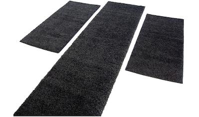 Carpet City Bettumrandung »Shaggi uni 500«, Wohnzimmer kaufen