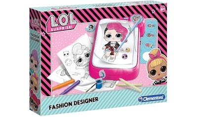 Clementoni® Kreativset »L.O.L. Surprise Fashion Designer«, Made in Europe kaufen