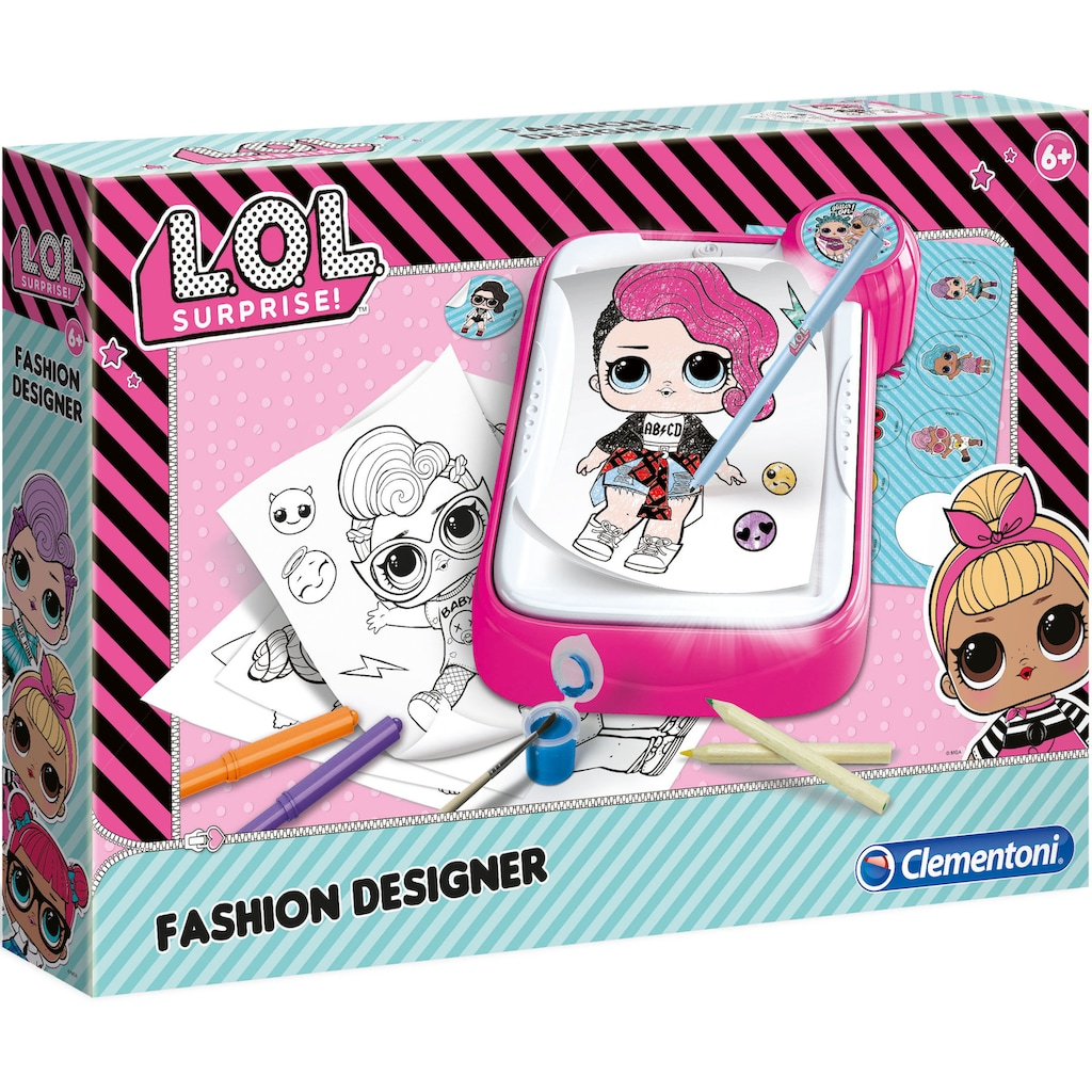 Clementoni® Kreativset »L.O.L. Surprise Fashion Designer«, Made in Europe