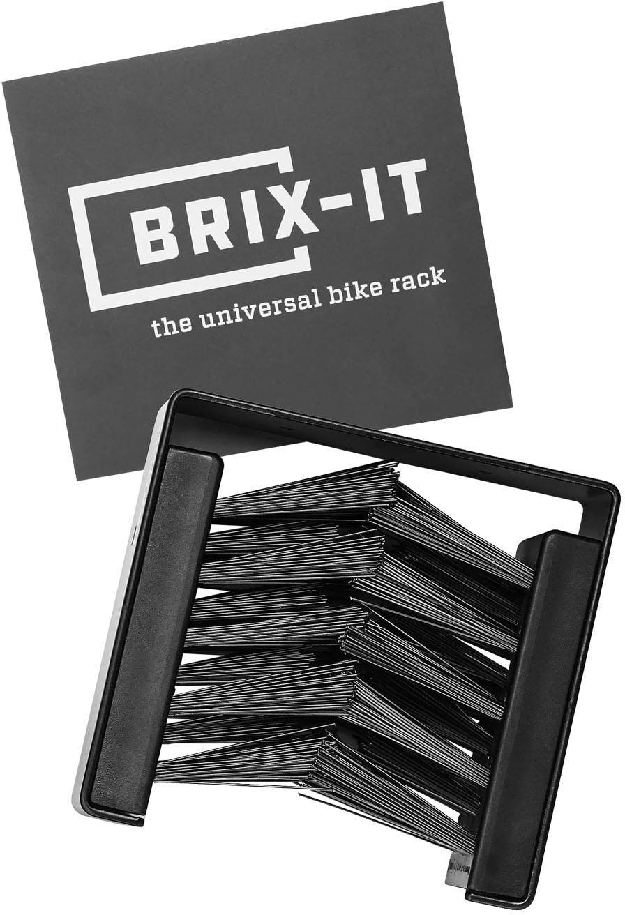 BRIX-IT BRIX-IT Fahrrad Wandhalterung Fahrrad-Wandhalterung, schwarz