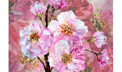 Komar Vliestapete »Blooming Gems 4er« kaufen