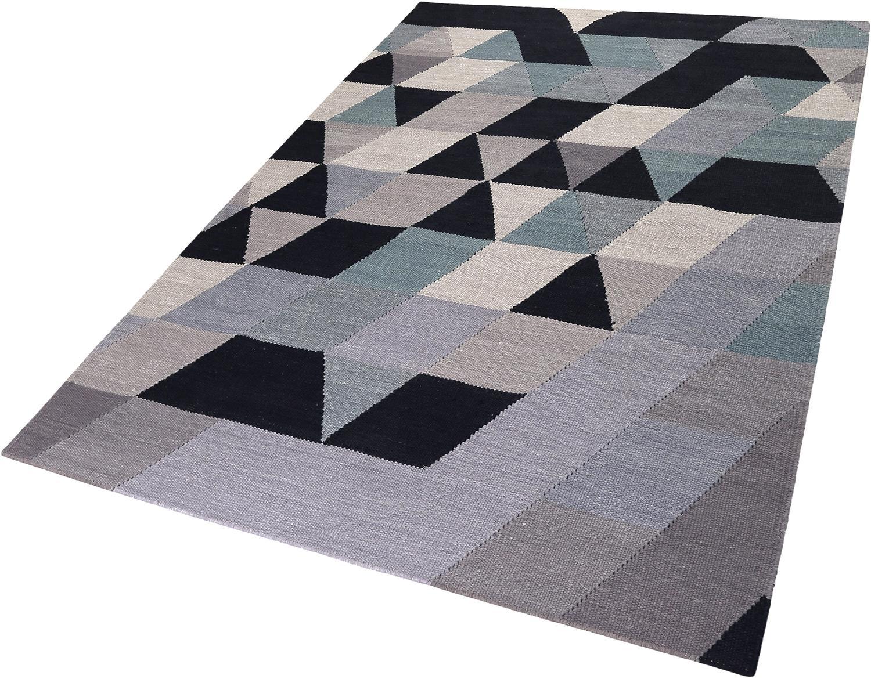 Teppich Triango Kelim Esprit rechteckig Höhe 5 mm handgewebt