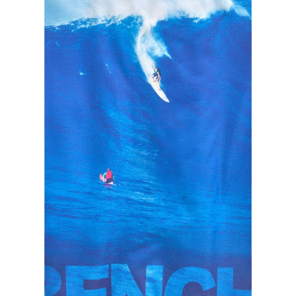 Bench. T-Shirt »WAVE«