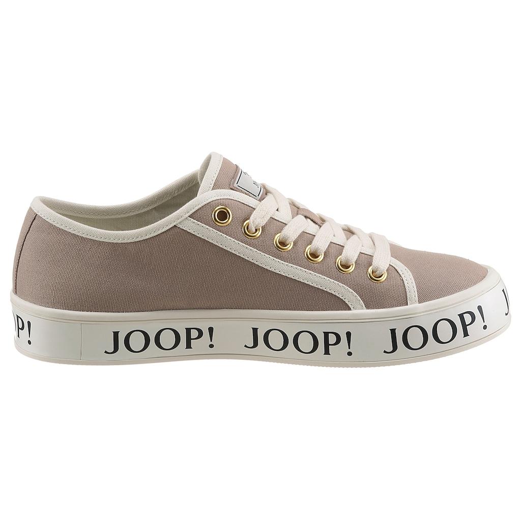 Joop! Sneaker »Classico Jil Sneaker«, mit Logoschriftzügen an der Laufsohle