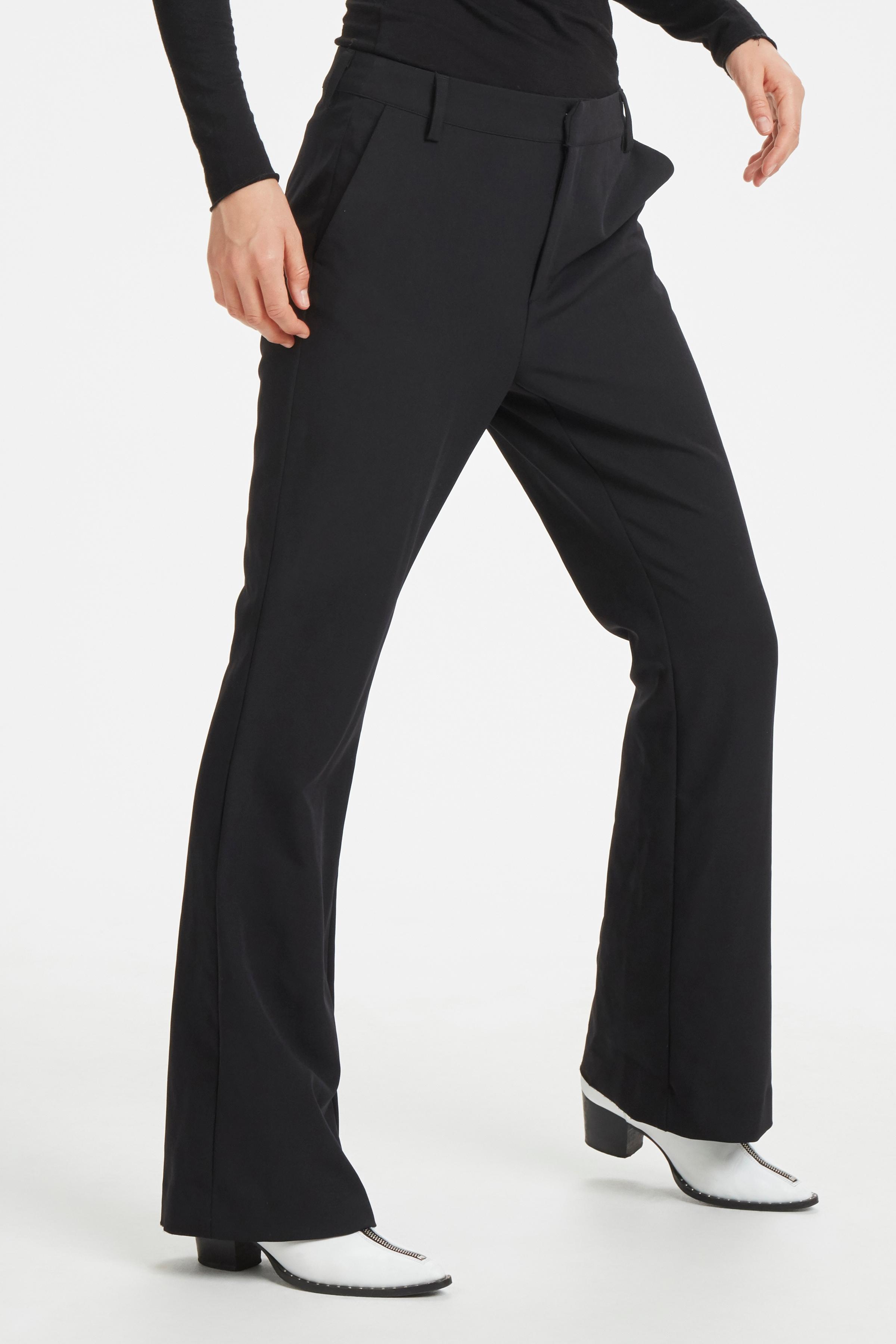 Denim Hunter Anzughose 14 THE BLACK FLARED | Bekleidung > Hosen > Anzughosen | Denim Hunter
