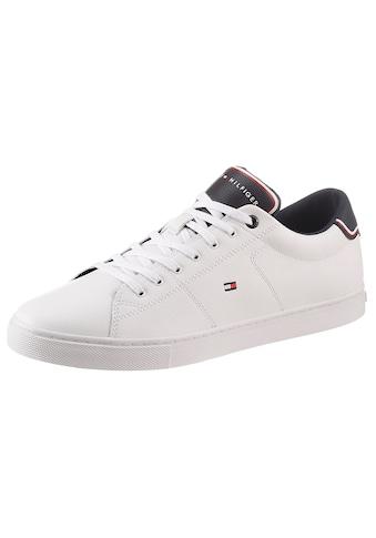 Tommy Hilfiger Sneaker »ESSENTIAL LEATHER SNEAKER«, mit Kontrastbesatz kaufen