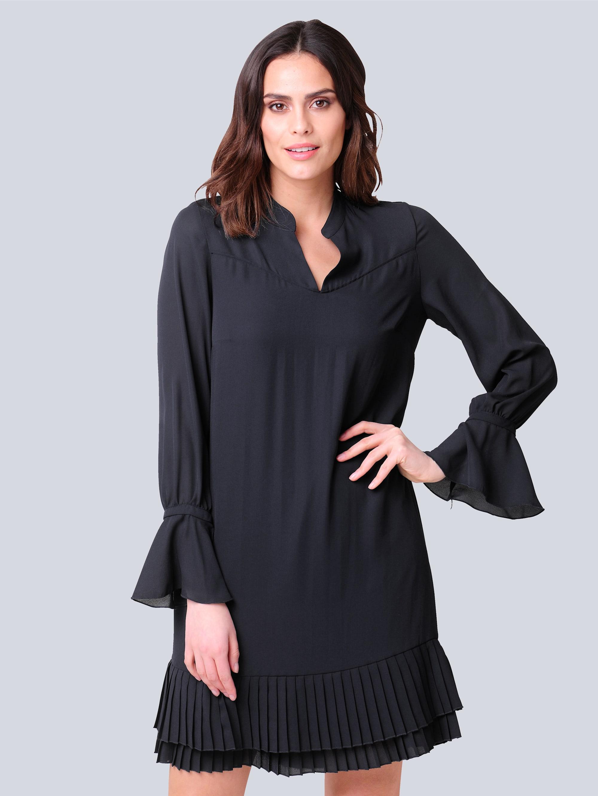 alba moda -  Abendkleid, mit plissierter Rüsche
