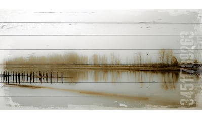 queence Holzbild »See«, 40x80 cm kaufen