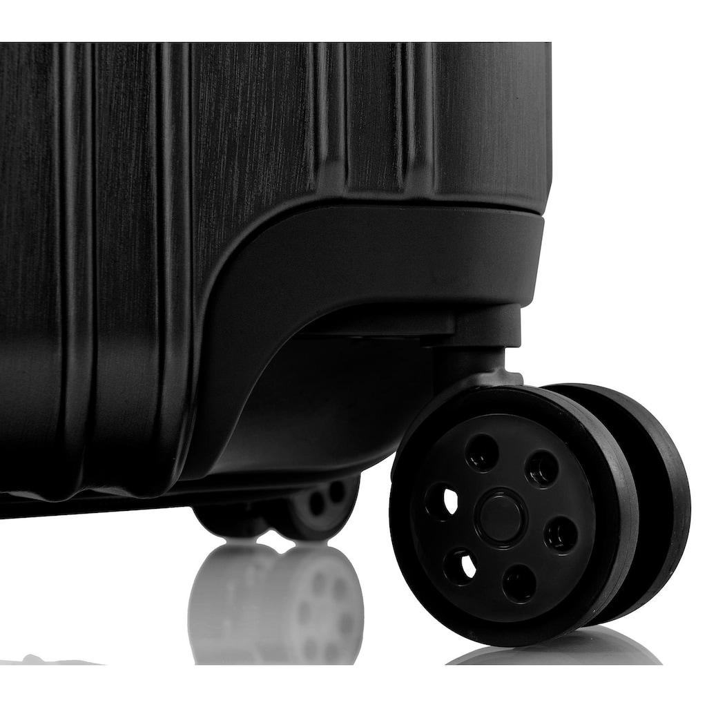 Heys Hartschalen-Trolley »Xtrak, 76 cm, Schwarz«, 4 Rollen