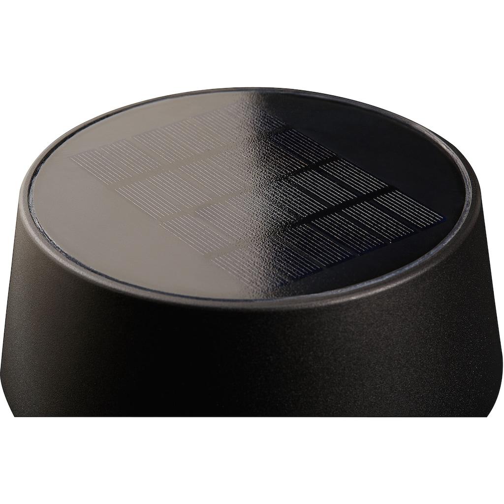 Nordlux LED Gartenleuchte »NAMA«, LED-Modul, 5 Jahre Garantie auf die LED/ Solar Modul mit Bewegungsmelder