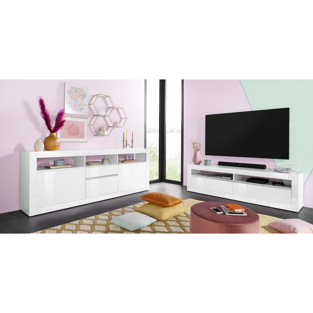 Tecnos Sideboard »Zoe«, Breite 210 cm