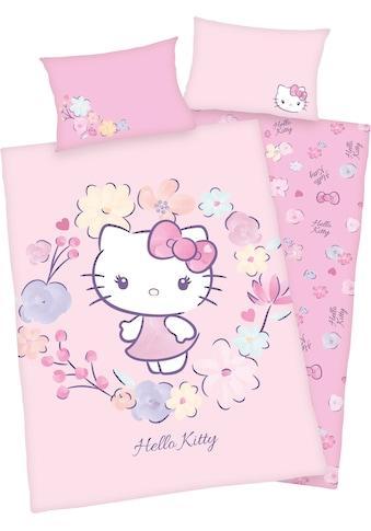Hello Kitty Babybettwäsche »Hello Kitty«, GOTS zertifiziert kaufen