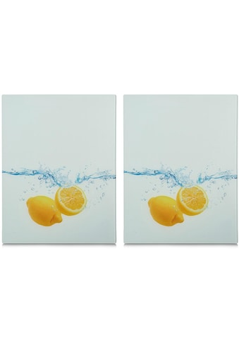 Zeller Present Schneide- und Abdeckplatte »Lemon Splash«, aus ESG-Sicherheitsglas hergestellt kaufen