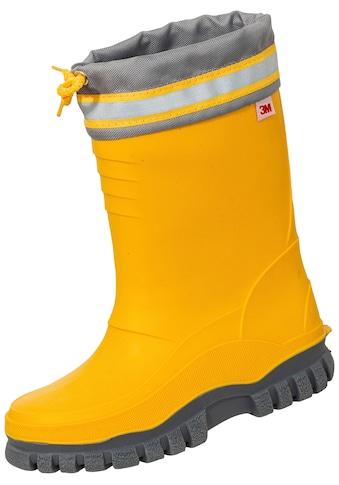 Winterstiefel »gelb/grau« kaufen