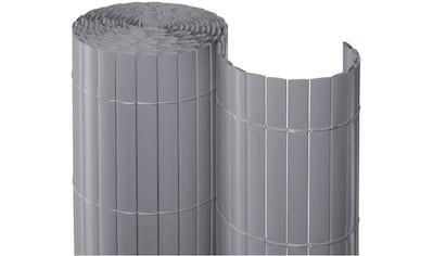 Balkonsichtschutz BxH: 300x90 cm, silberfarben kaufen