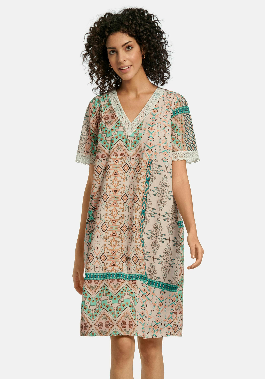 mybc -  Abendkleid mit 1/2-Arm, mit Biesen