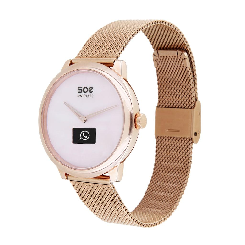 X-Watch Smartwatch »SOE XW PURE LIGHT« (, Hybrid, mit analoger Zeitanzeige und Touch-Display