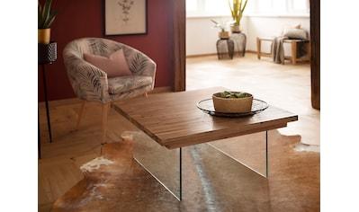 Home affaire Couchtisch »Megan«, au schönem massivem Akazienholz, mit einem... kaufen