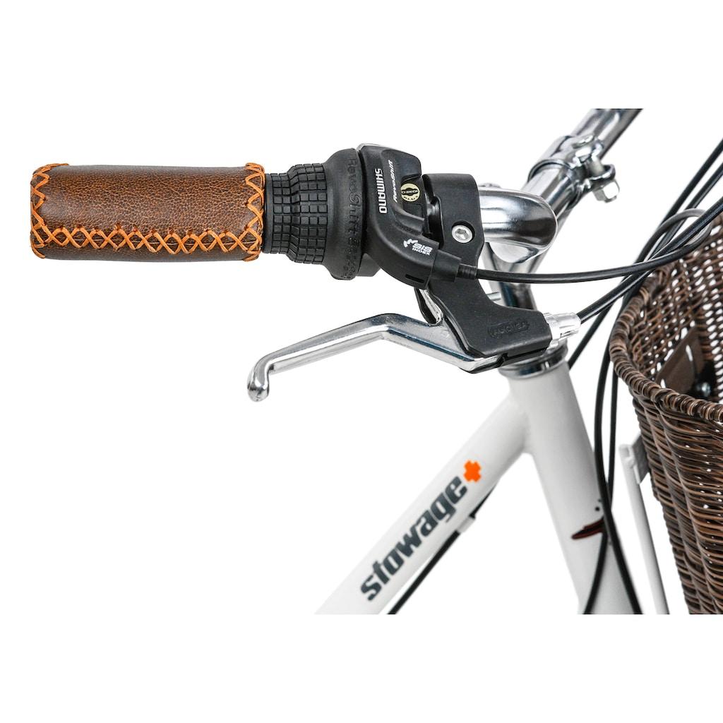 KS Cycling Cityrad »Stowage«, 6 Gang, Shimano, Tourney Schaltwerk, Kettenschaltung