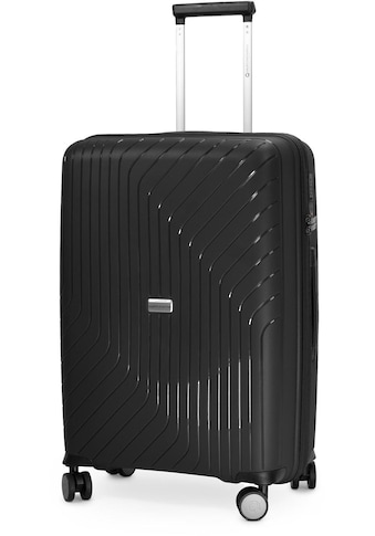 Hauptstadtkoffer Hartschalen-Trolley »TXL, 66 cm, schwarz«, 4 Rollen kaufen